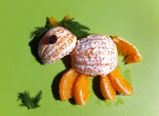 Zum Frühstück Osterpferd ...