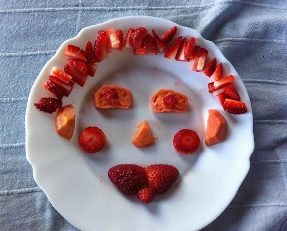 Guaven & Erdbeeren