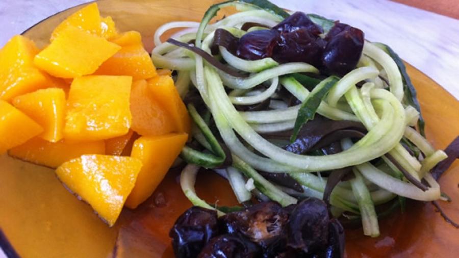 Abendessen mit Mango