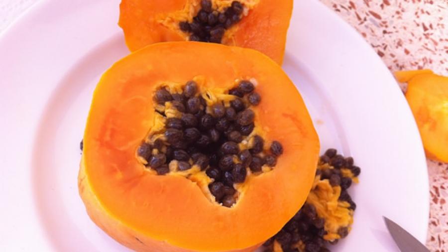Frisch und bio: alles an diesen göttlichen Früchten (auch Kerne und Schale) ist essbar!