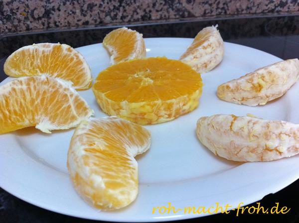 Orangensonne