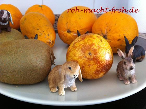 Frühstücksteller - schlicht & fruchtig!