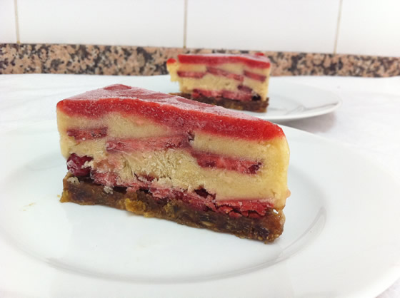 Mhmm, Torte! 100% Frucht, 0% Fett, 100% lecker!