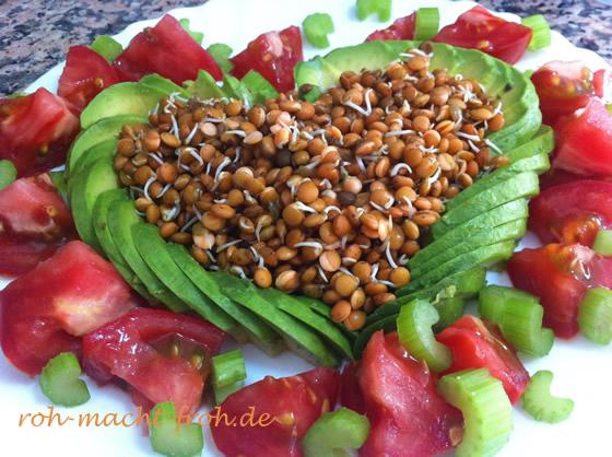 Richte dein Essen liebevoll an - auch Auge und Seele wollen genährt werden.
