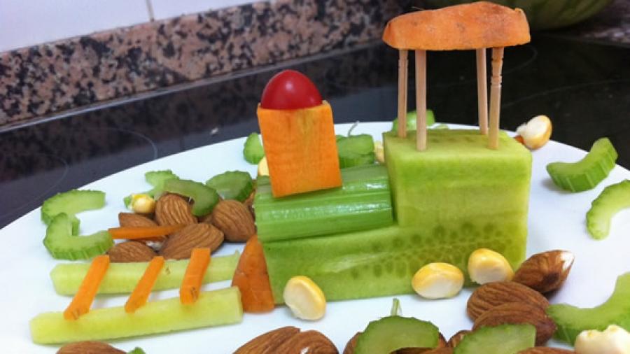 Gemüse-Lok