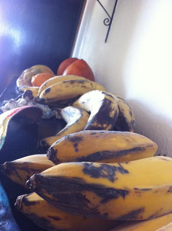 Und natürlich: Früchte :)