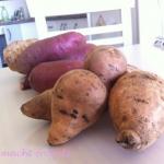 Grundnahrungsmittel Süßkartoffeln