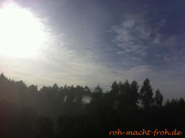 Herbstmorgenhimmel