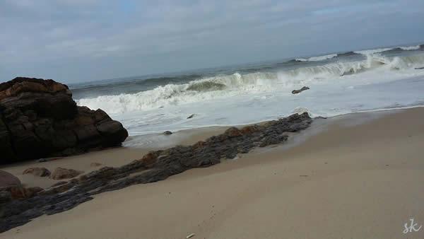 Der Strand von Pedrógão