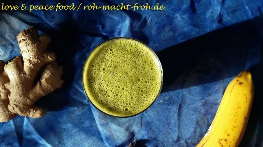 Grün goldene Milch