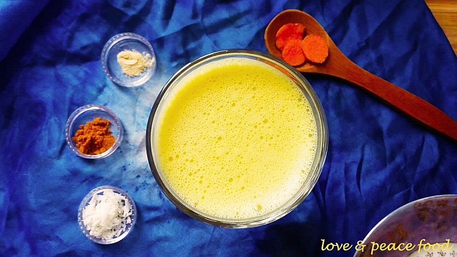 Raw Vegan Keto Golden Milk - Happy Healthy Raw & Free