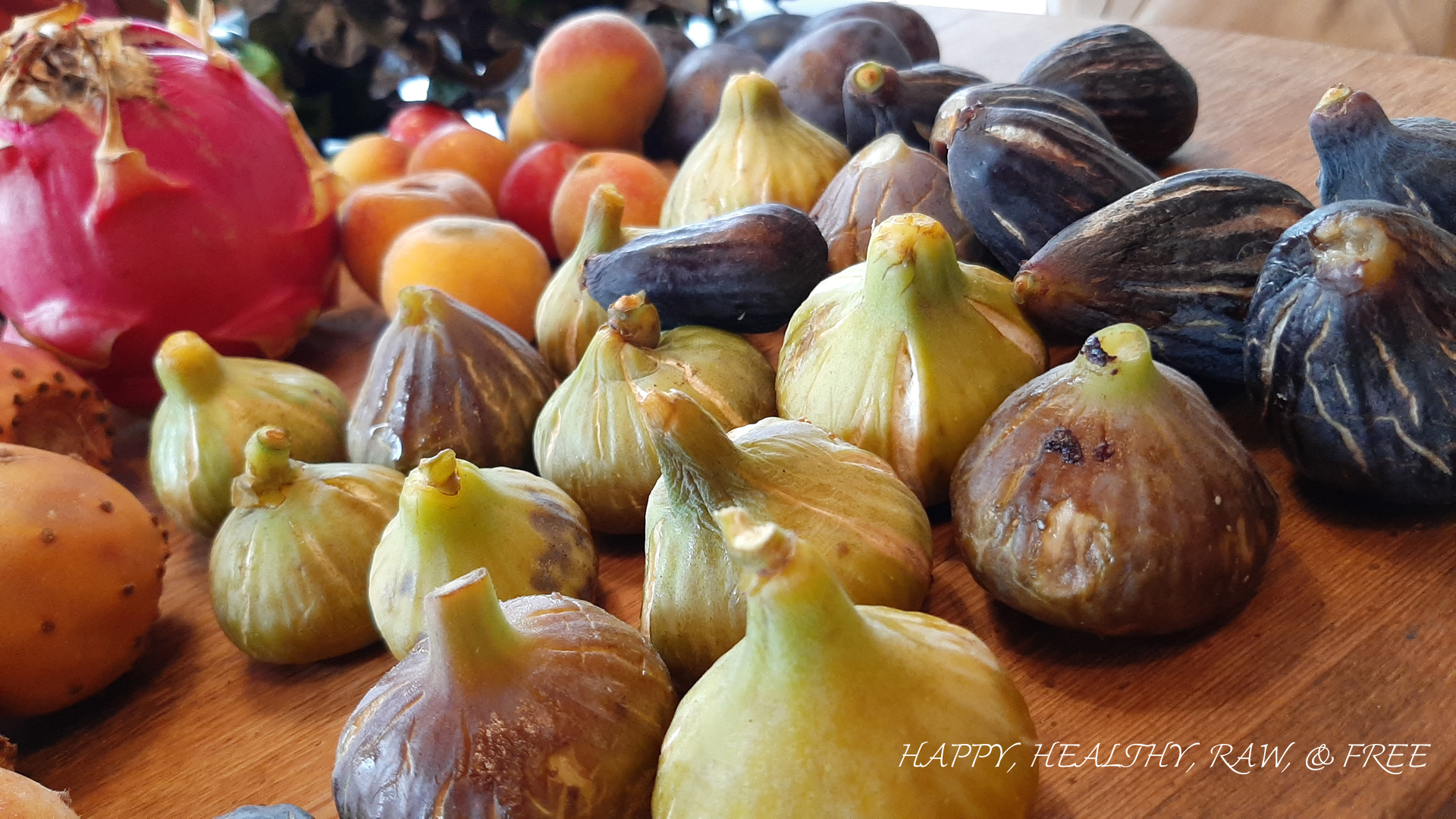 Summer Raw Food Tenerife: Figs