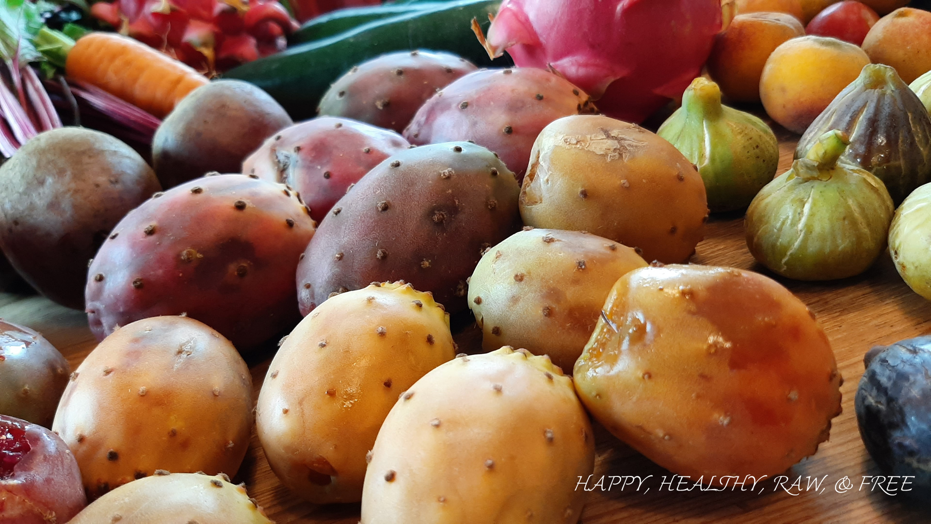 Summer Raw Food Tenerife: Prickly Pears