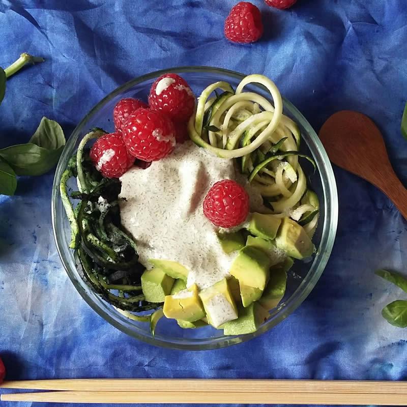 Frühstück Keto Roh Vegan